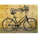"Citybike, dam, 28"", 3 växlar, turkos,"