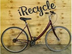 """Crescent, citybike, mixad ram, 28"""", 3 växlar, vit,"""