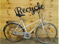 "Crescent, citybike, 28"", 3 växlar, silver, korg,"