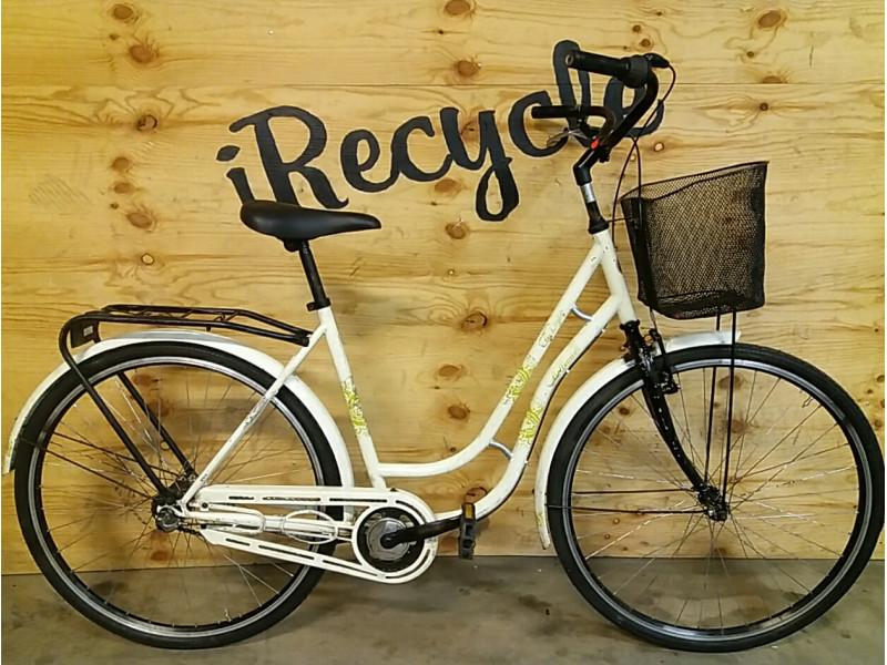 "Crescent, citybike, 28"", 3 växlar, rosa,"