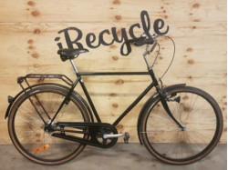 Cykelpump Silver